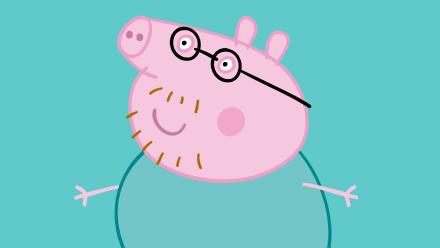 Papai Pig Peppa Pig