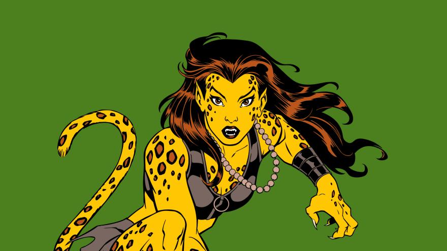 Mulher-Leopardo Mulher-Maravilha