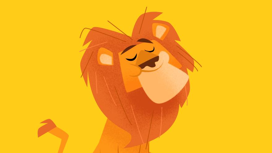 Leão Animais Savana