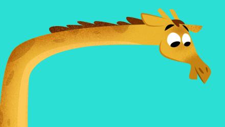 Girafa Animais Savana