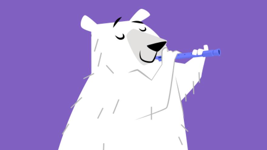 Urso-polar Animais do Gelo