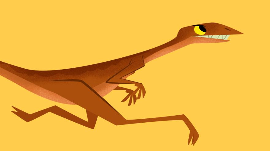 Compsognato Dinossauro